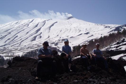 ETNA-trekking inverno