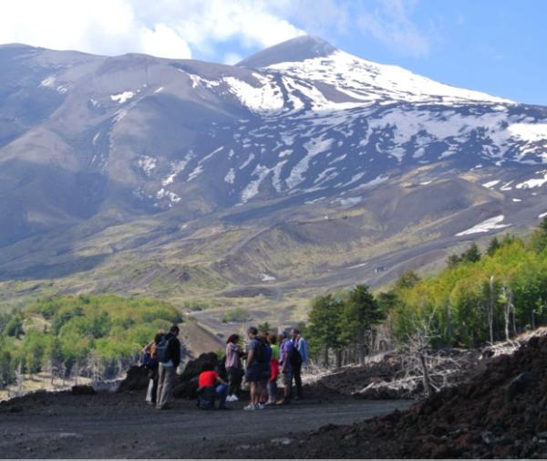 Trekking on Etna and Alcantara Gorges