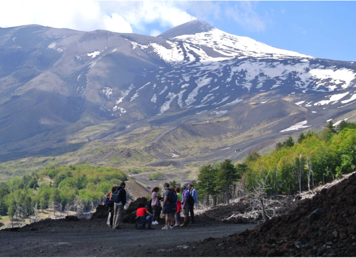 TREKKING ON ETNA (seaside craters) +ALCANTARA GORGES