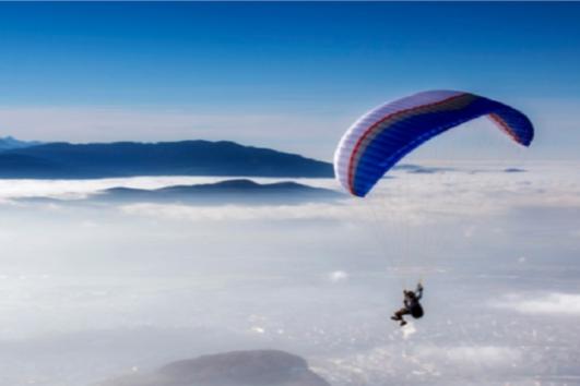 Parafly Monte Venere