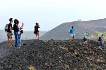 etna trekking crateri laterali